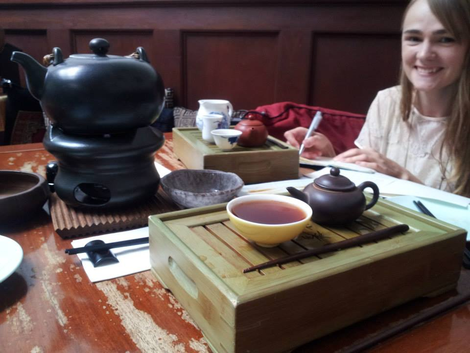 """""""Tea drinking is a simple act… But, as humans do, we give it a profound significance.."""""""